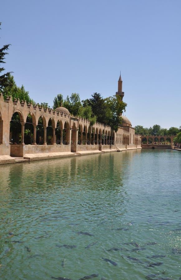Moschea Turchia di Urfa fotografie stock