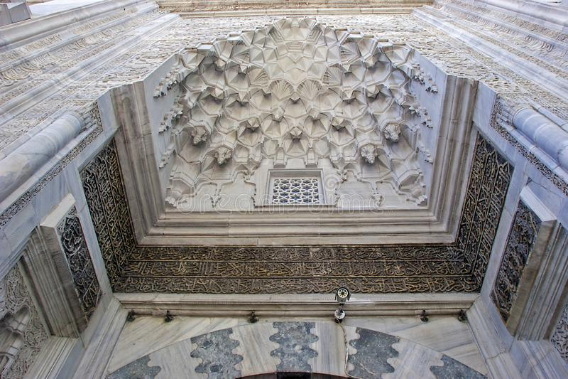 "Moschea verde, ""in camii di Yesil ""turco, Bursa, Turchia fotografia stock libera da diritti"