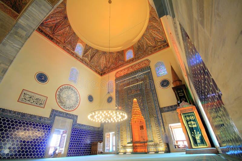 Moschea verde (Yesil Cami) fotografia stock libera da diritti