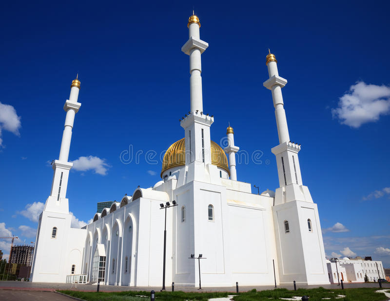 Moschee. stockfotografie