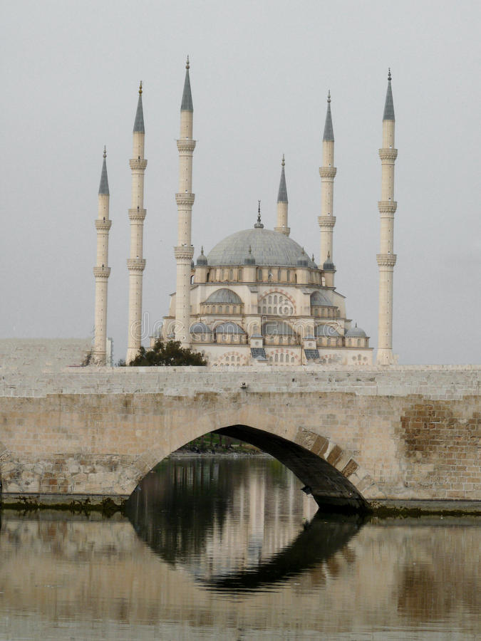 Moschee, Adana/die Türkei lizenzfreie stockfotos