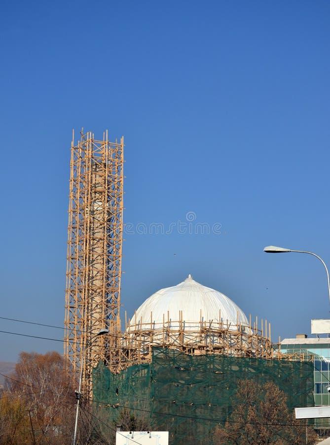 Moschee in Bitola, Mazedonien lizenzfreies stockfoto