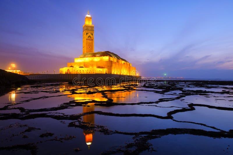 Moschee in Casablanca lizenzfreies stockfoto