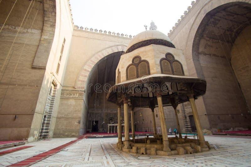 Moschee des Sultans Hassan lizenzfreie stockfotografie
