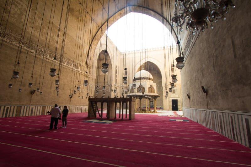Moschee des Sultans Hassan lizenzfreie stockbilder