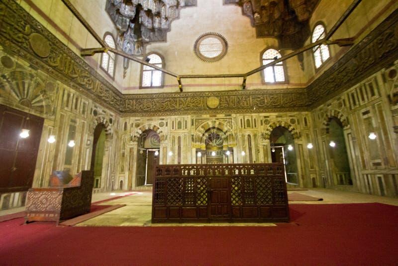 Moschee des Sultans Hassan stockfotos