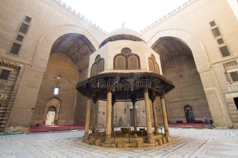 Moschee des Sultans Hassan lizenzfreie stockfotos