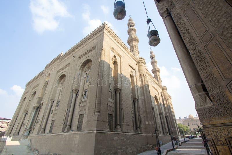 Moschee des Sultans Hassan stockfoto