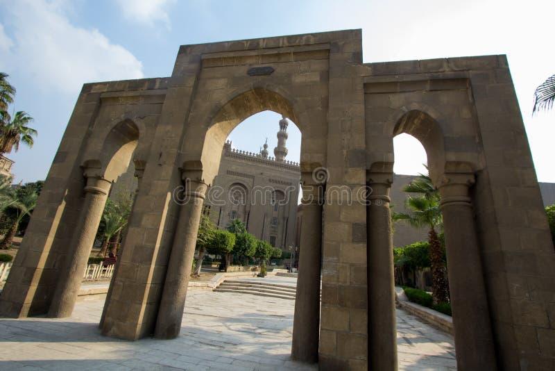 Moschee des Sultans Hassan stockbild