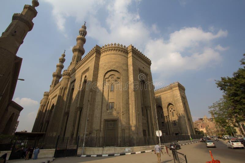 Moschee des Sultans Hassan stockfotografie