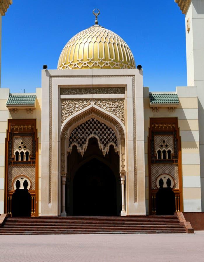 Moschee-Eingang stockbild