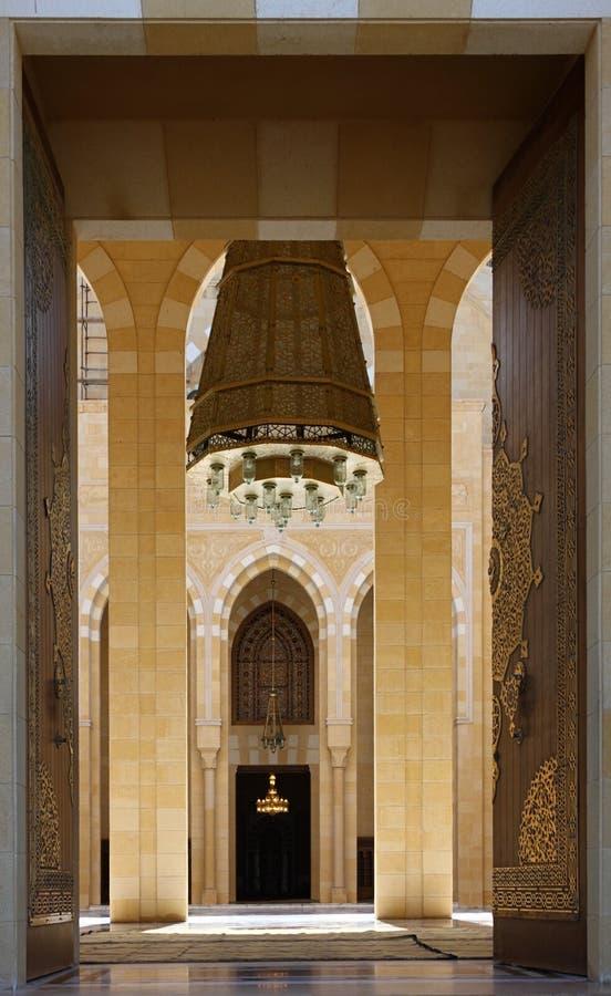 Moschee-Eingang, der Libanon lizenzfreie stockfotos