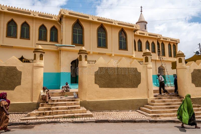 Moschee in Harar lizenzfreie stockfotos