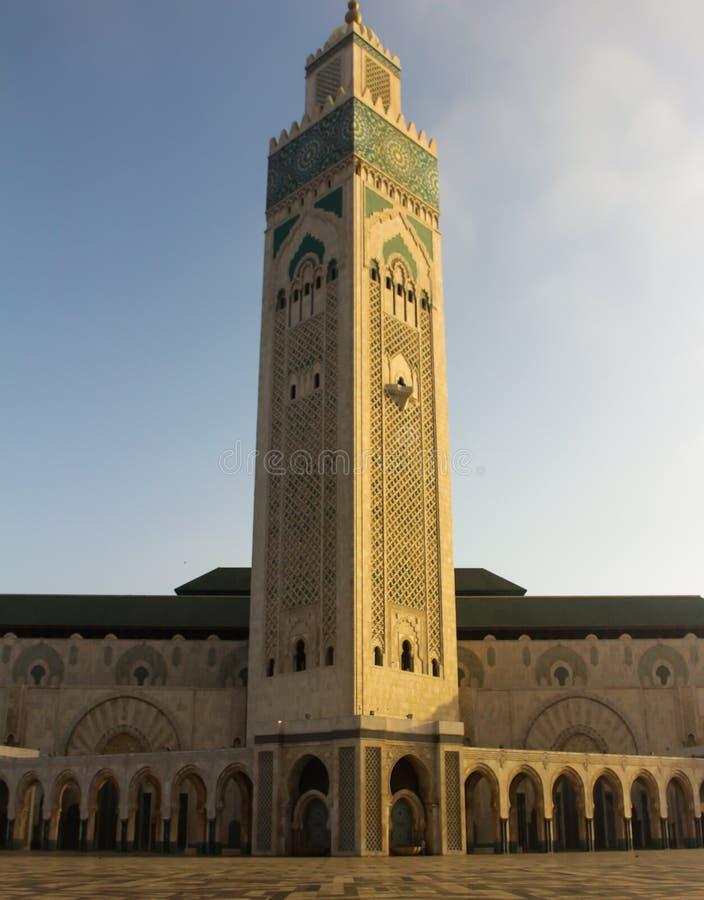 Moschee Hassan Casablanca lizenzfreie stockbilder