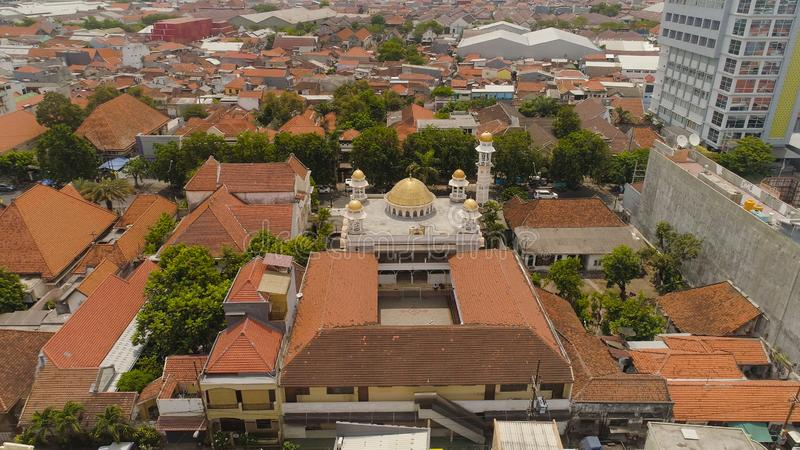 Moschee in Indonesien stockfoto