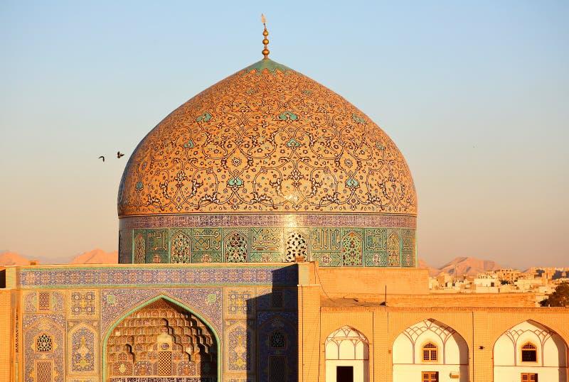 Moschee in Isfahan, der Iran lizenzfreies stockfoto