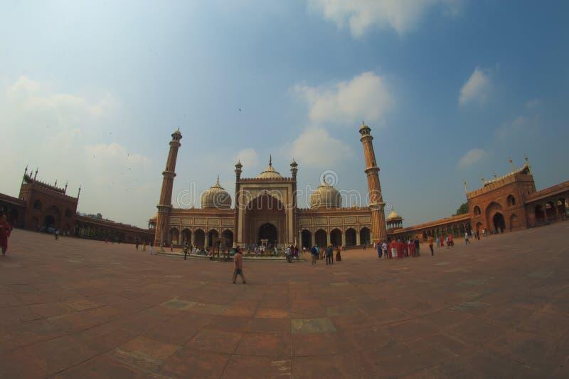 Moschee Jama-Masjid lizenzfreie stockbilder