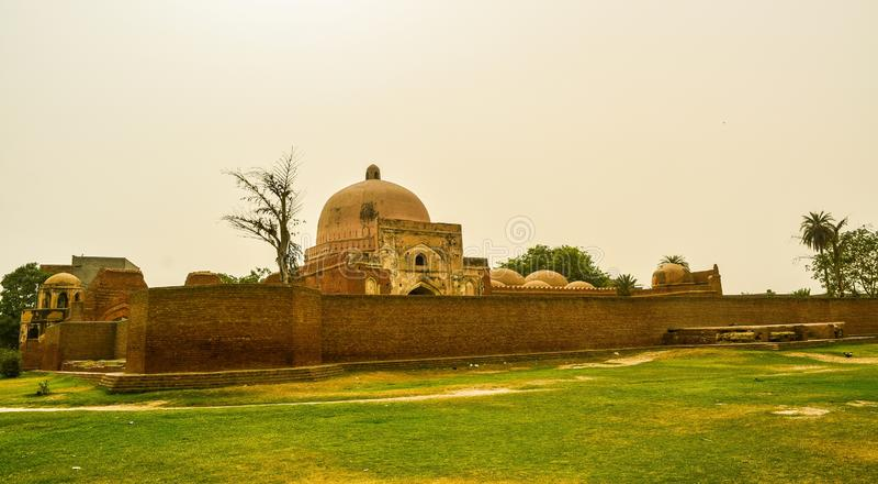 Moschee Kabuli /bagh in Panipat, Haryana, Indien stockfotos