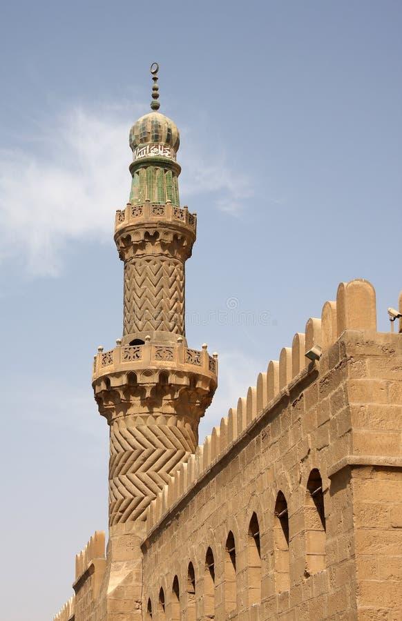 Moschee, Kairo, Ägypten lizenzfreies stockfoto