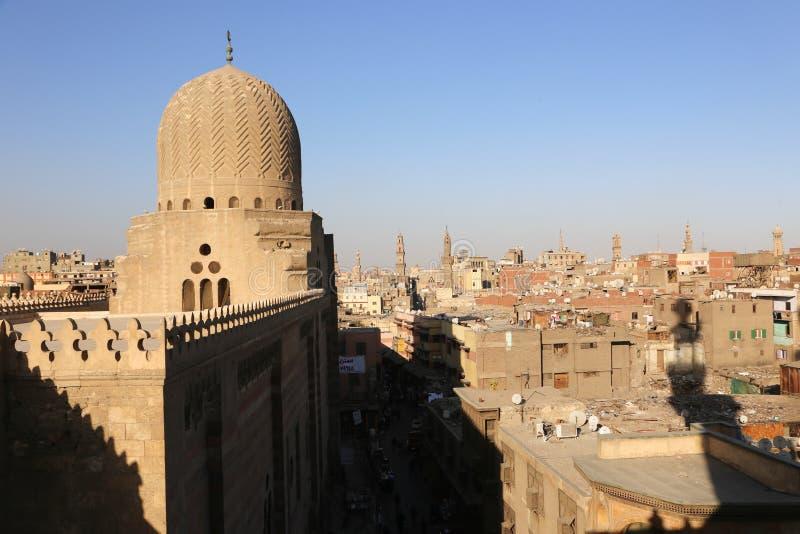Moschee - Kairo, Ägypten lizenzfreies stockbild