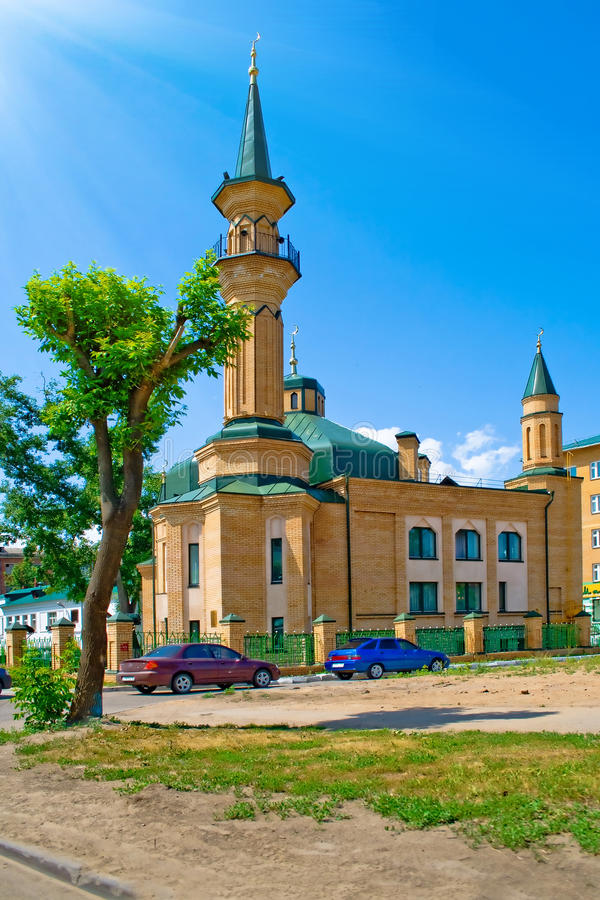 Moschee in Kazan lizenzfreies stockfoto