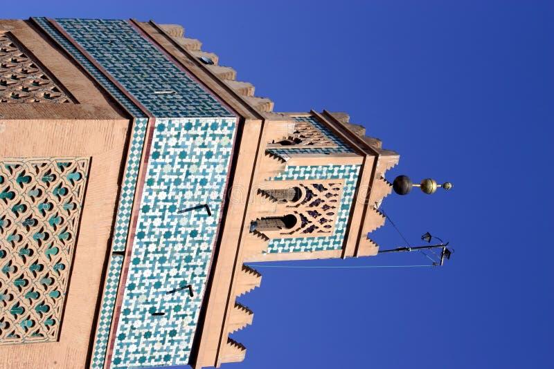 Moschee-Kontrollturm lizenzfreies stockbild