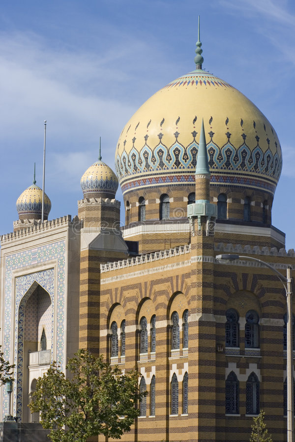 Moschee in Milwaukee, Wisconsin stockfoto