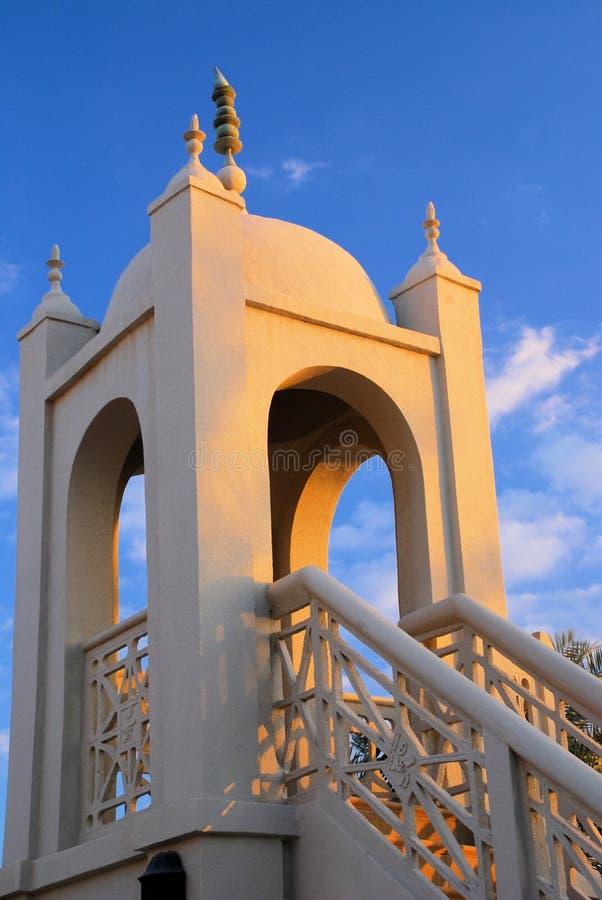 Moschee-Minarett stockfotografie