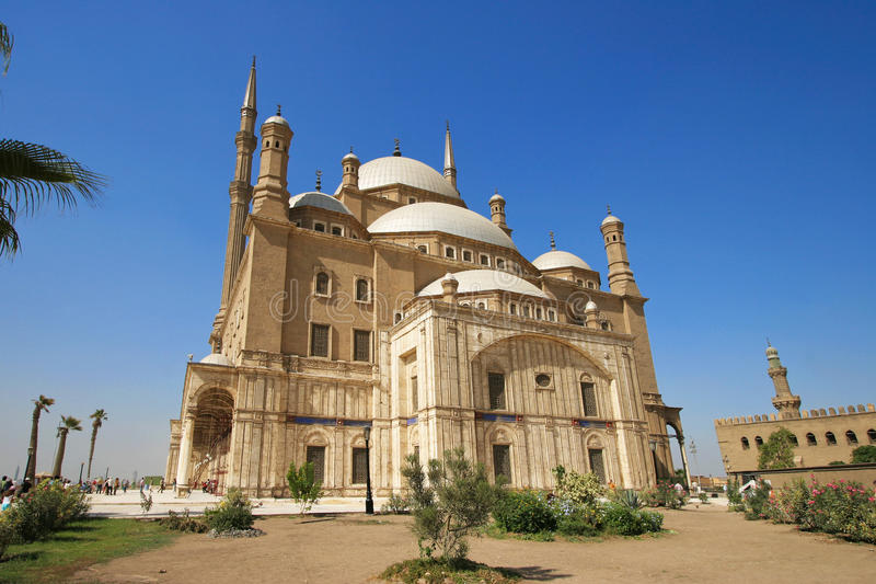 Moschee Mohammed Ali-Basha, Kairo - Ägypten stockfotografie