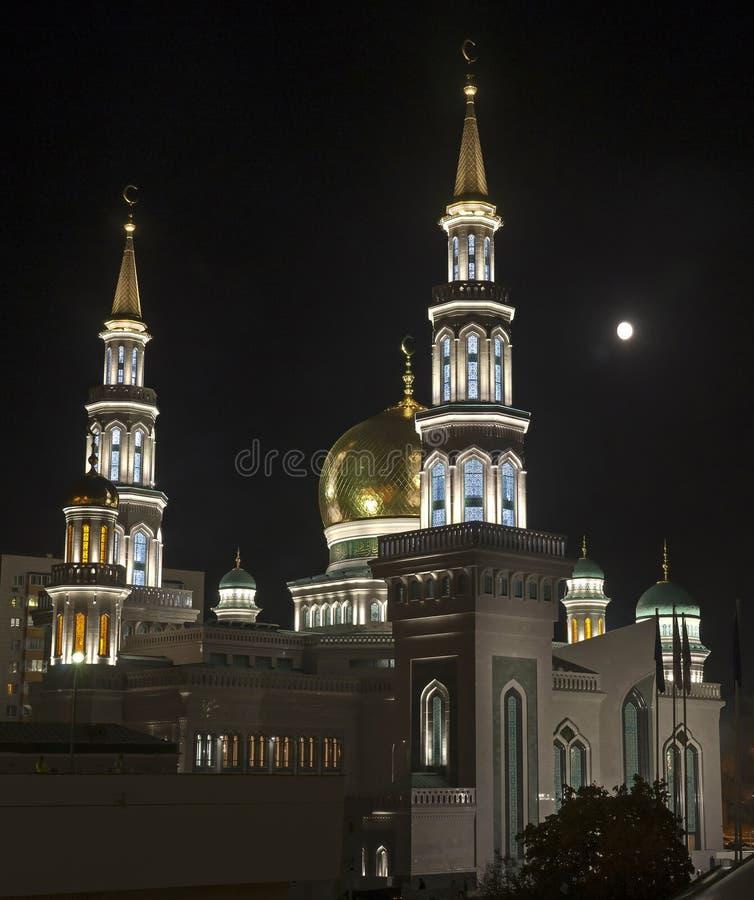Moschee in Moskau lizenzfreie stockfotos