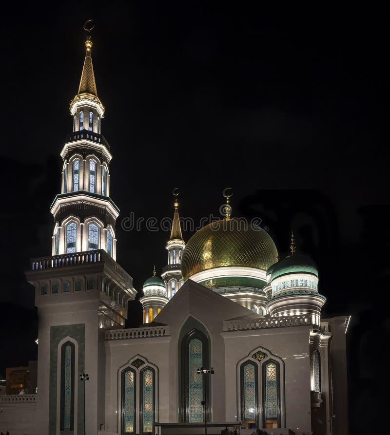 Moschee in Moskau 4 lizenzfreies stockbild