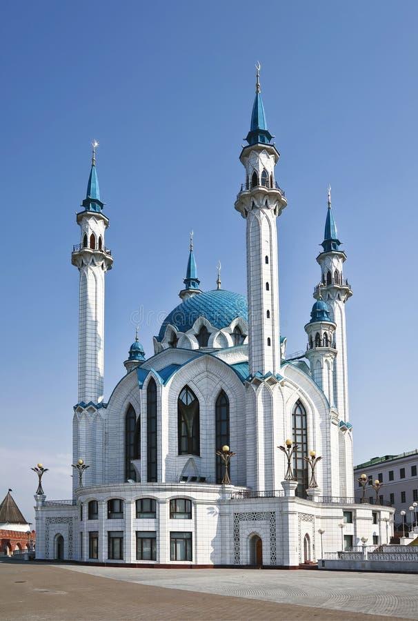 Moschee Qol Sharif in Kasan, Russland lizenzfreies stockbild