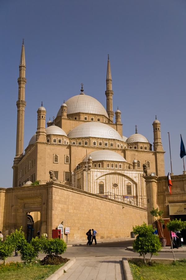 Moschee von Mohamed Ali, Saladin Citadel, Kairo, Ägypten stockfotos