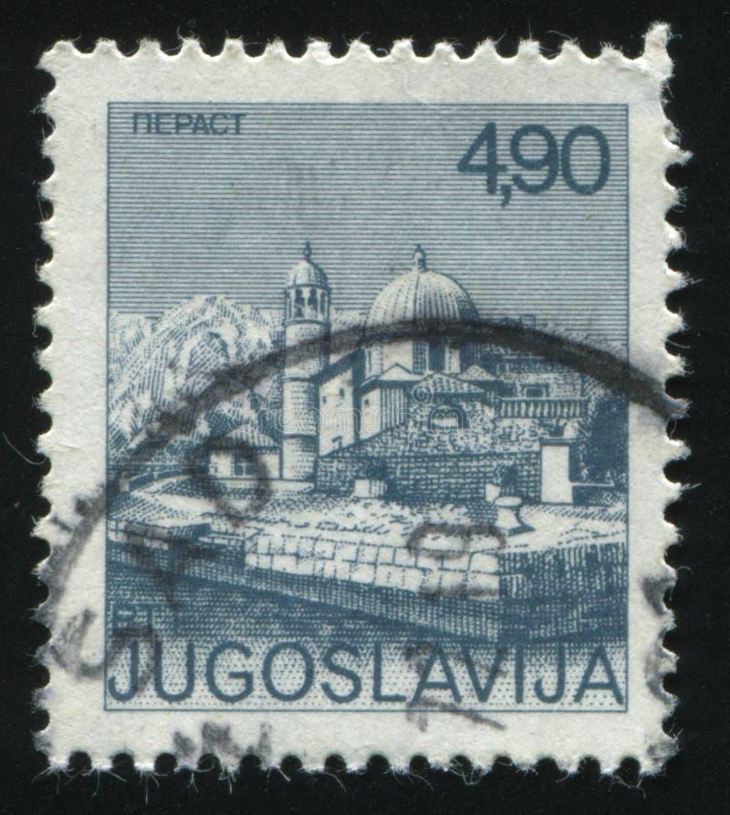 Moschee von Perast lizenzfreies stockfoto
