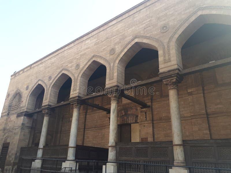 Moschee zuwaela lizenzfreie stockfotos
