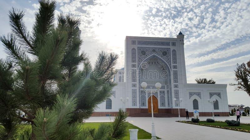 Moscheen-Minderjähriger in Taschkent lizenzfreie stockfotografie