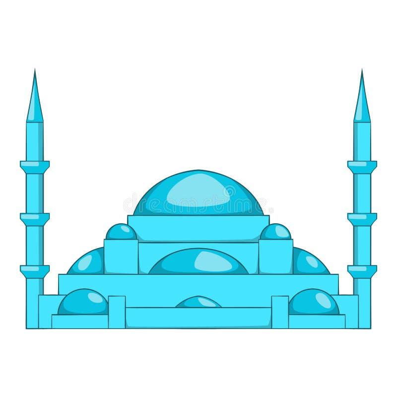 Moscheenikone, Karikaturart vektor abbildung