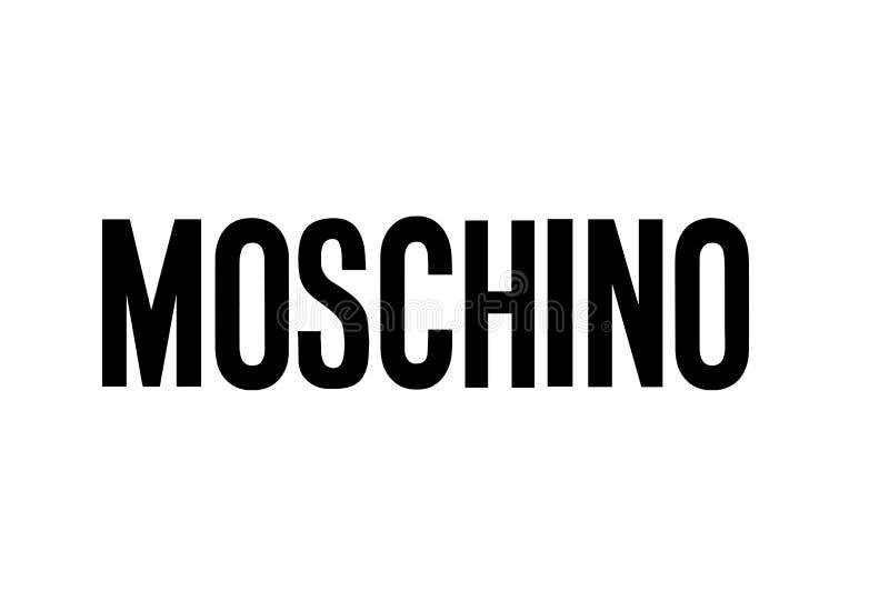 Moschino logo royalty free stock image