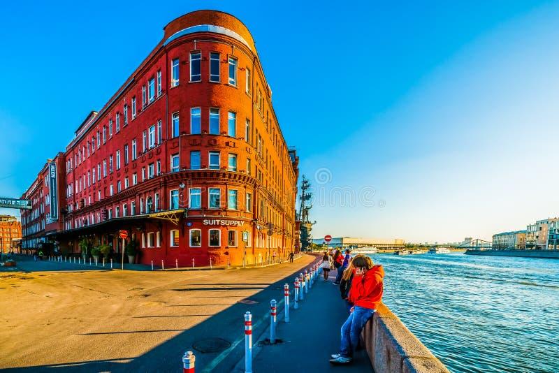 Moscou Art Institute industrial fotografia de stock