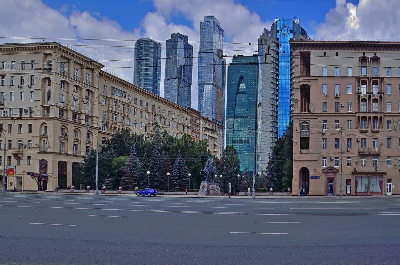 Moscou-cidade fotografia de stock royalty free
