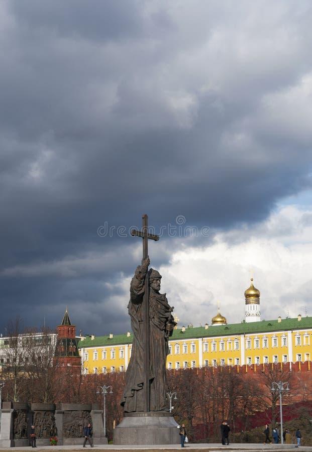 Moscou, cidade federal do russo, Federação Russa, Rússia imagens de stock