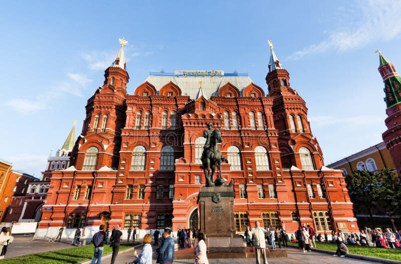 Moscou, Federação Russa - 27 de agosto de 2017:- quadrado vermelho - imagens de stock royalty free