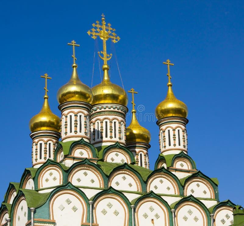 Moscou, igreja de St. Nikolas imagem de stock