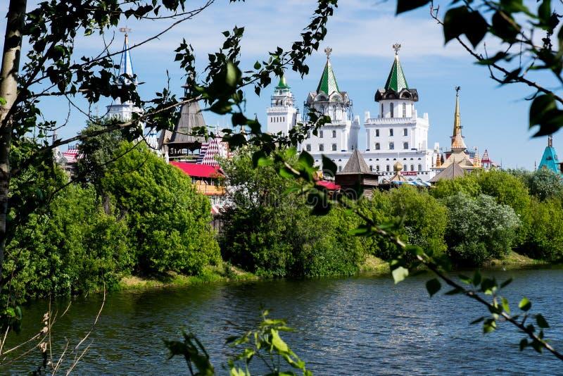 Moscou, Izmailovo kremlin fotos de stock