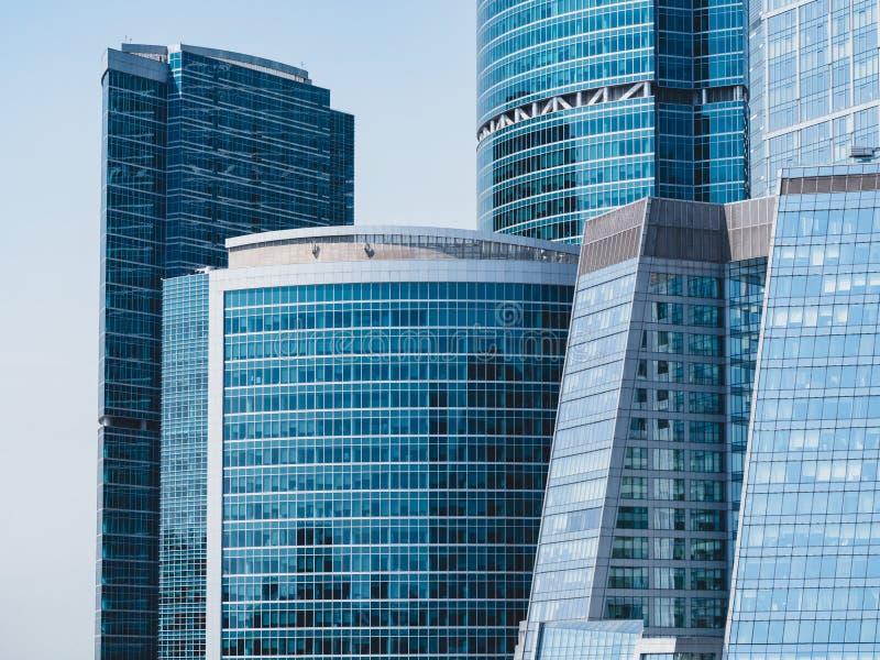 MOSCOU - 23 JUIN 2018 : Complexe de centre international d'affaires à Moscou au jour ensoleillé images stock