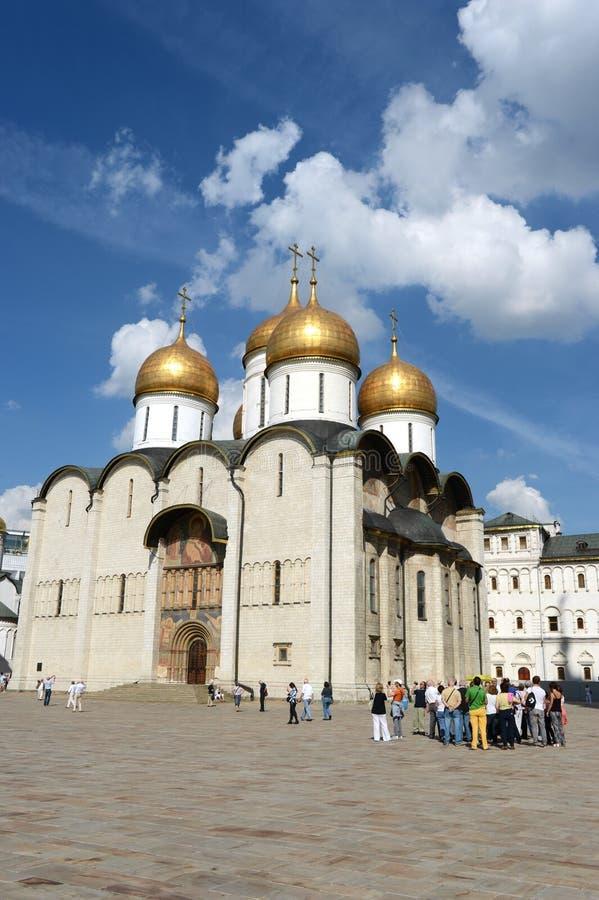 Moscou Kremlin Cathédrale de l'hypothèse photos stock