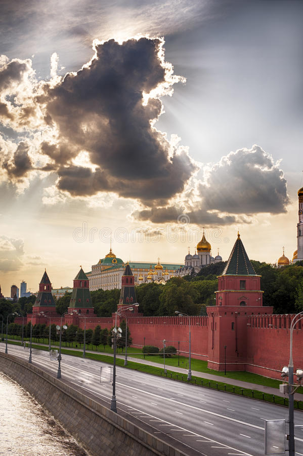 Moscou Kremlin en Russie photos stock