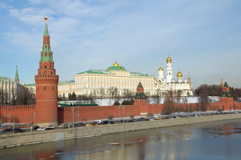 Moscou Kremlin, Russie images libres de droits