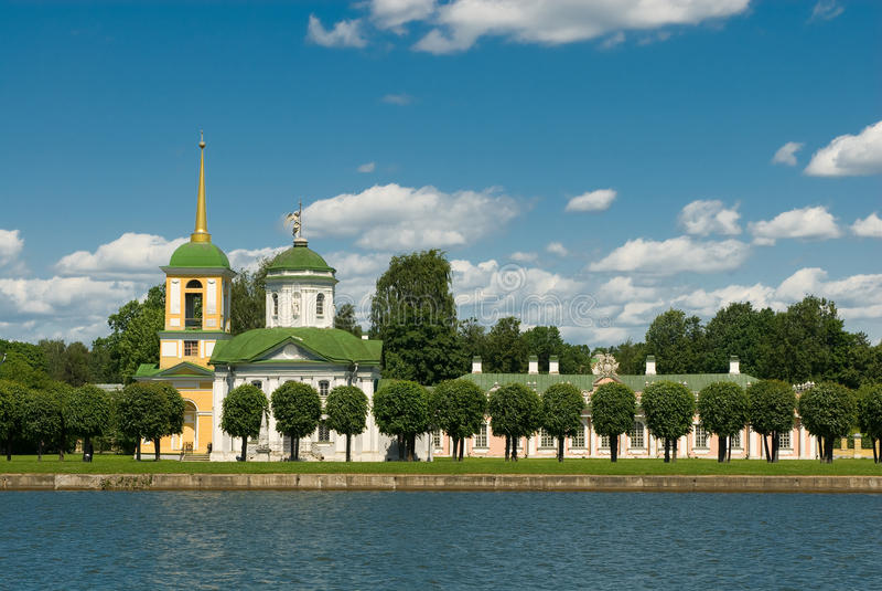 Moscou. Kuskovo photo stock