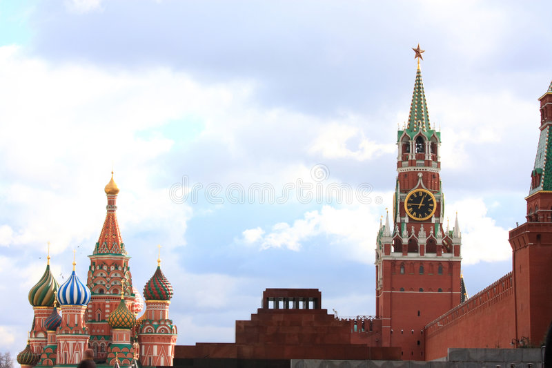 Moscou Russie image libre de droits